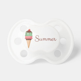 Summer Ice Cream Pacifier
