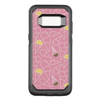 Summer Ice Cream Pattern OtterBox Commuter Samsung Galaxy S8 Case