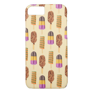 Summer Ice Cream Pops Pattern iPhone 7 Case