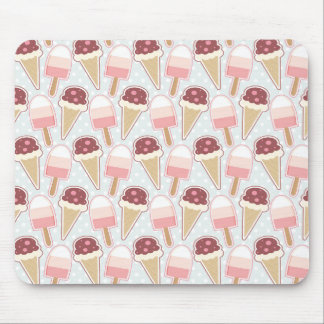 Summer Ice Creams Mouse Pad