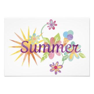Summer illustration photo