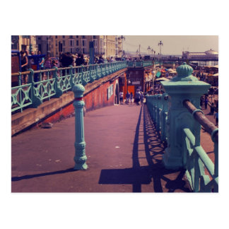Summer in Brighton Postcard