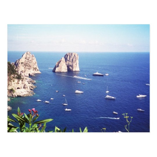 Summer in Capri Postcard
