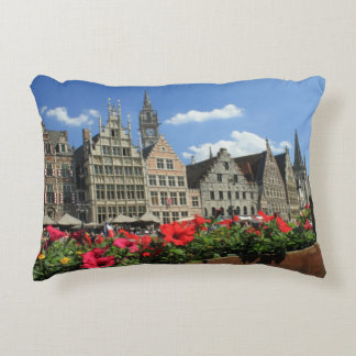 Summer in Ghent Accent Pillow