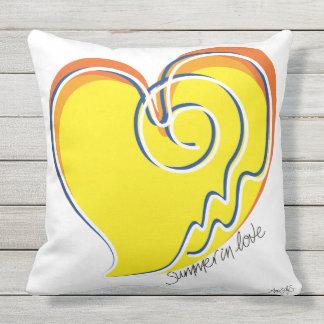 Summer in Love-Signature Outdoor Pillow