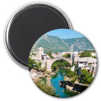 Summer in Mostar Magnet