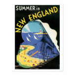 Summer in New England Postcards