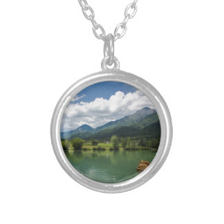 Summer in Preddvor Silver Plated Necklace
