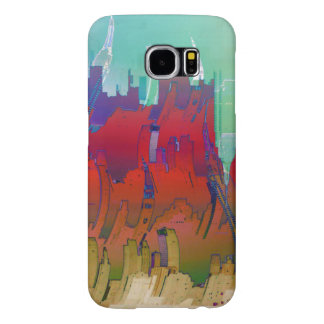 """Summer In The City"" Samsung Galaxy S6 Cases"