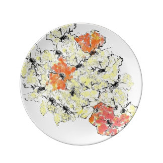 Summer into Fall Wildflowers Plate