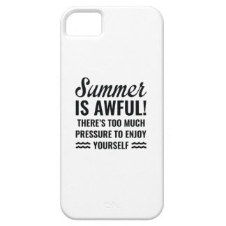 Summer Is Awful Case For The iPhone 5