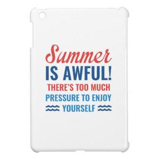 Summer Is Awful iPad Mini Case