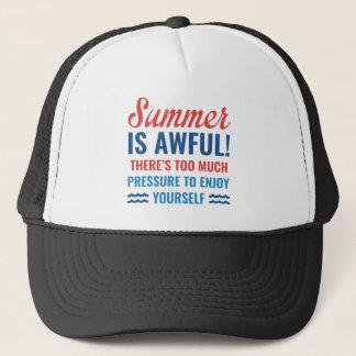 Summer Is Awful Trucker Hat