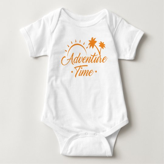 Summer is calling! Adventure Time. Baby Bodysuit