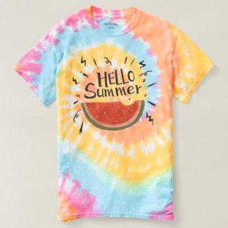 Summer is calling! Hello Summer. Watermelon. T-shirt
