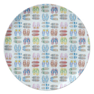 Summer is for Sandals Melamine Plate