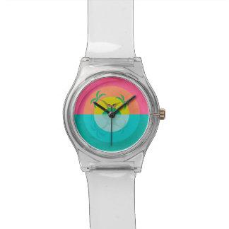 Summer Island Unicorn Wrist Watches