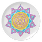 Summer Joy Star Plate