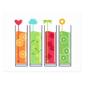 Summer Juices postcard