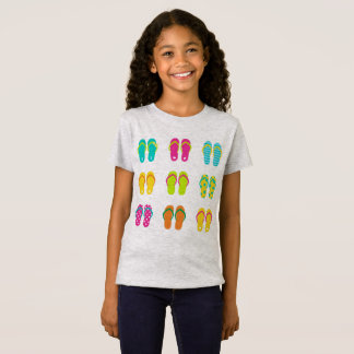 Summer kids tshirt with Shoes