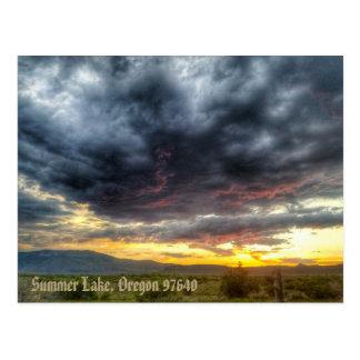 Summer Lake, Oregon Postcard