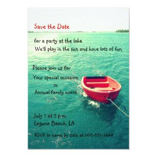 Summer Lakeside Party/Celebration Custom Invites