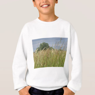 Summer landscape of wild field in the countryside sweatshirt