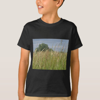 Summer landscape of wild field in the countryside T-Shirt