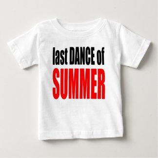 SUMMER LAST DANCE night couple invitation remember Baby T-Shirt