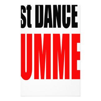 SUMMER LAST DANCE night couple invitation remember Customized Stationery