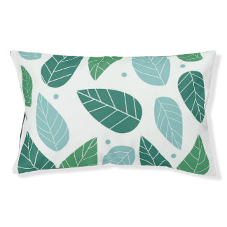 Summer Leaves Outdoor Pet Bed