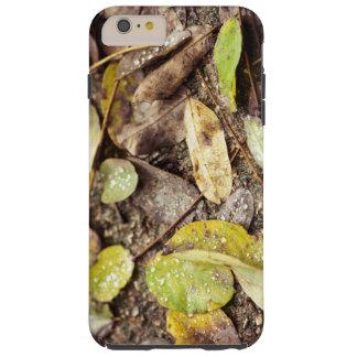 Summer leaves under the raindrops tough iPhone 6 plus case