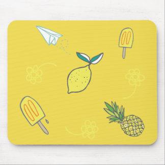 Summer Lemony Goodness Mouse Pad