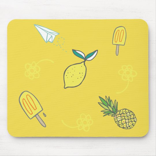 Summer Lemony Goodness Mouse Pad
