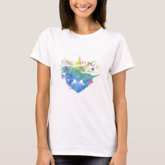 Summer Life For A Figure Skater T shirt