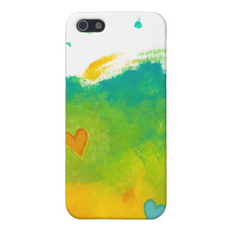 Summer Love unique whimsical modern art wedding Cases For iPhone 5