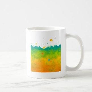 Summer Love unique whimsical modern art wedding Mug