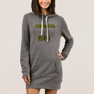Summer Lovin'  Women's Hoodie Dress