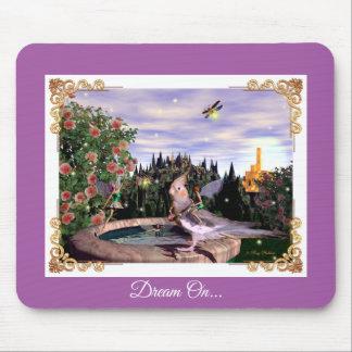 Summer Magick Purple Mouse Pad