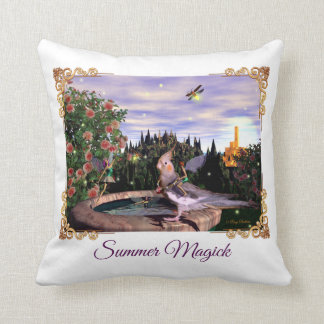Summer Magick Throw Pillow