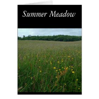Summer Meadow Blank card