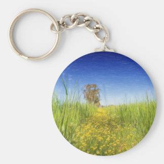 Summer Meadow Keychain