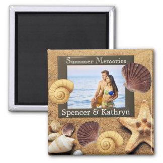 """""""Summer Memories"""" Add Photo & Text Magnet"""