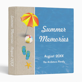 Summer Memories Binder