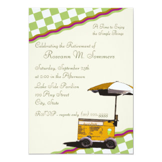 Summer Memories/ Retirement Card
