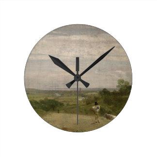 Summer Morning: Dedham from Langham Wall Clocks