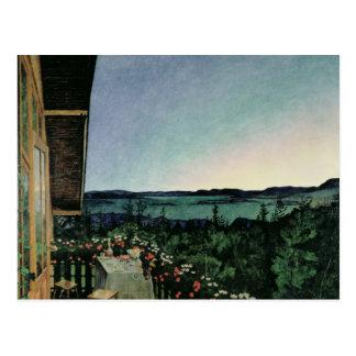 Summer Night, 1899 Postcard