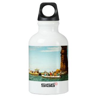 Summer nostalgia water bottle