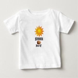 Summer nut in sun baby T-Shirt