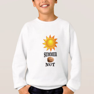 Summer nut in sun sweatshirt
